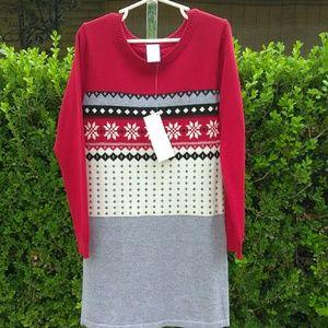 Gymboree Sweater Dress Size 7